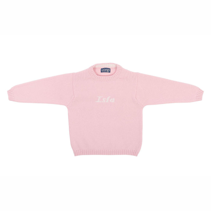 Toddler's Personalised Pure Cashmere Sweater