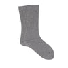 Women's Cabled Mercerised Cotton Socks