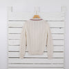 Women's Cricket Style Wool Sweater