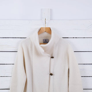 Women's Tuck Stitch Cashmere Coat