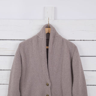 Women's Shawl Collar Cashmere Cardigan