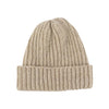 Women's Rib Knit Donegal Wool Beanie