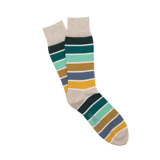 Men's Pantone Stripe Cotton Socks