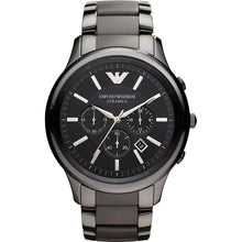 Load image into Gallery viewer, Emporio Armani AR1451 Men's Ceramica Ceramic Chronograph Watch - Gents Garms