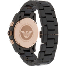 Load image into Gallery viewer, Emporio Armani AR1410 Men's Valente Ceramica Ceramic Chronograph Watch - Gents Garms