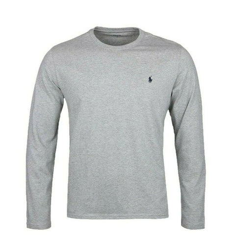 Polo Ralph Lauren Long Sleeve Crew Neck T-Shirt - Gents Garms
