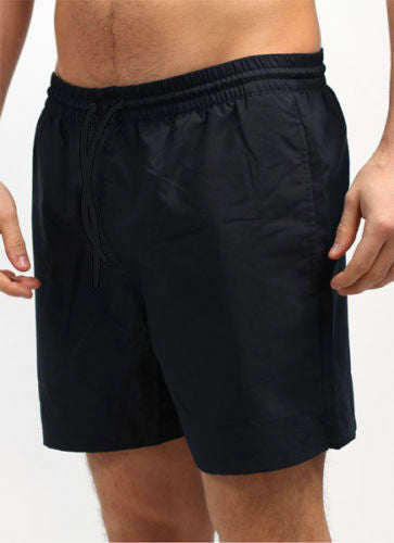 Men's Black Swimming/Running Shorts - Gents Garms