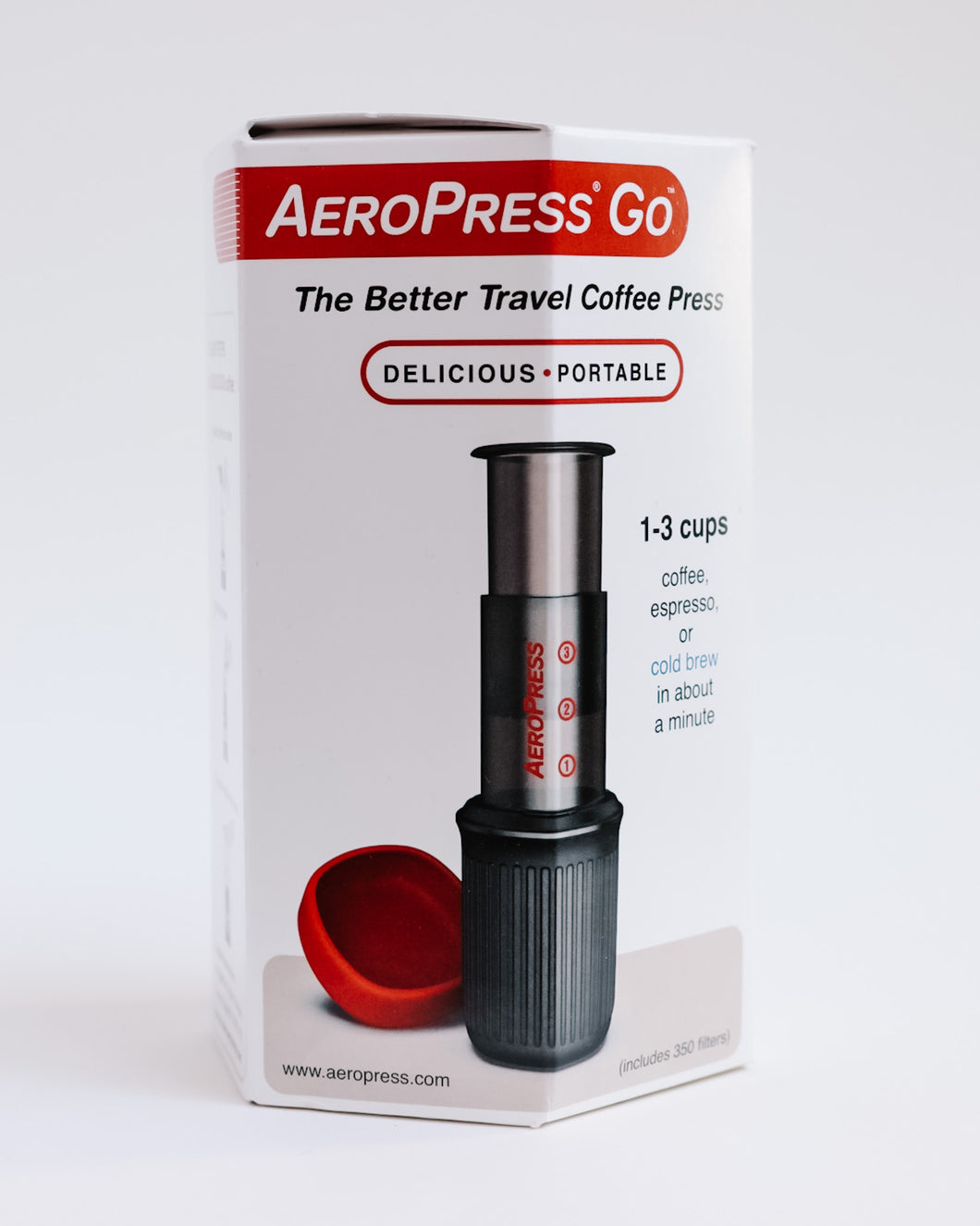Aeropress GO Travel Coffee Maker - BPA Free