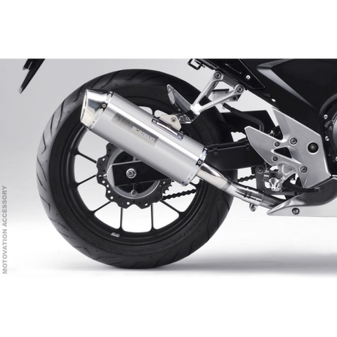 HONDA CB400X WT Titanium Slip-On Exhaust