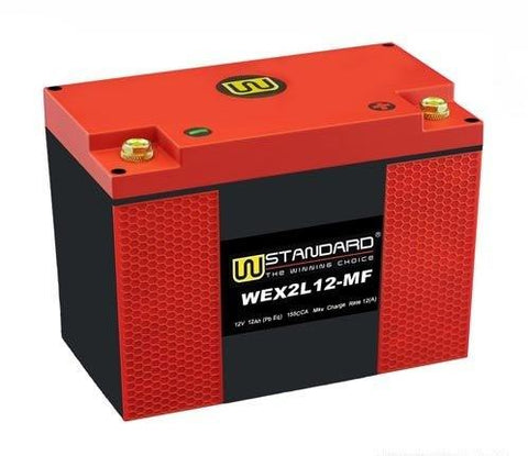 WEX2L12-MF W-Standard Lithium Battery - SIMZ Werkz