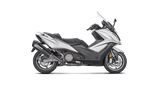 KYMCO AK 550 Full Exhaust System (Stainless Steel)