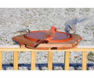 Deck Mount Bird Baths