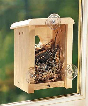Coveside Window Nesting Box Birdhouse