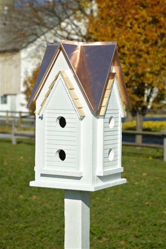 Heartwood Victorian Mansion Martin Bird House