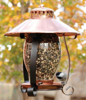 Woodlink Brushed Copper Lantern Feeder