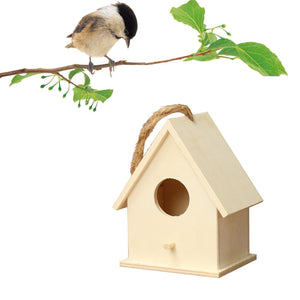 Resting Place Outdoor Wooden Birds House