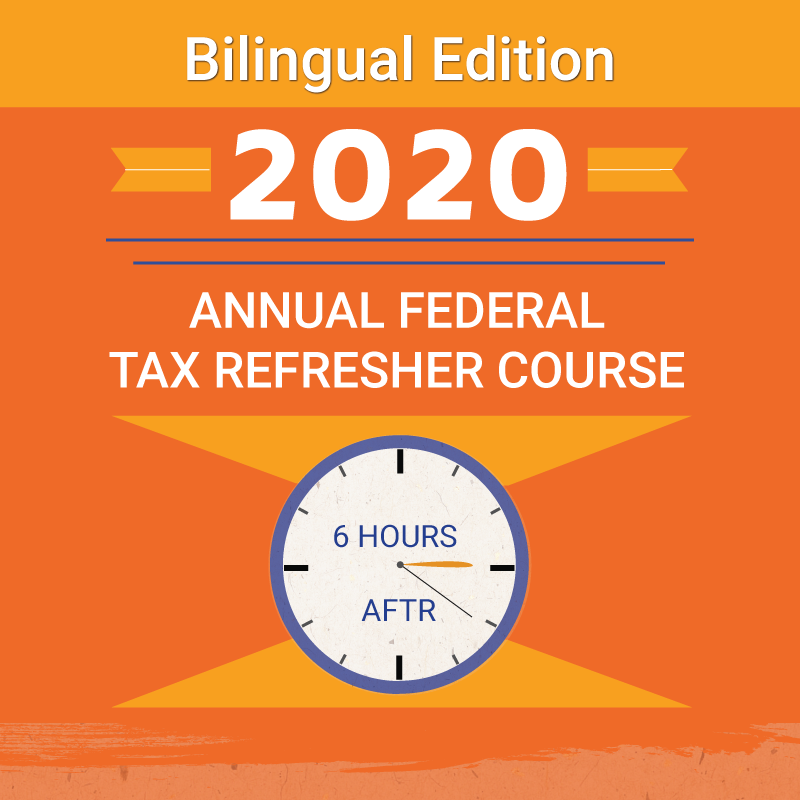 RightWay Bilingual Annual Federal Tax Refresher eBook