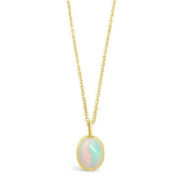 Moonflower Opal Necklace-Necklaces-Lunar Lapis