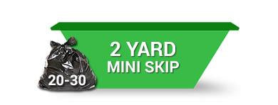 2 Yard Skip (2 weeks hire ) Order Online Save 5%