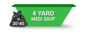 4 Yard Skip (2 weeks hire ) Order Online Save 5%