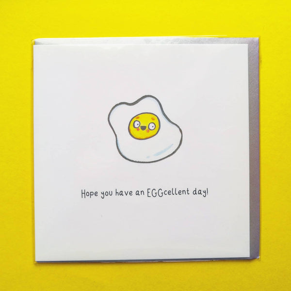 EGGcellent Birthday Card!