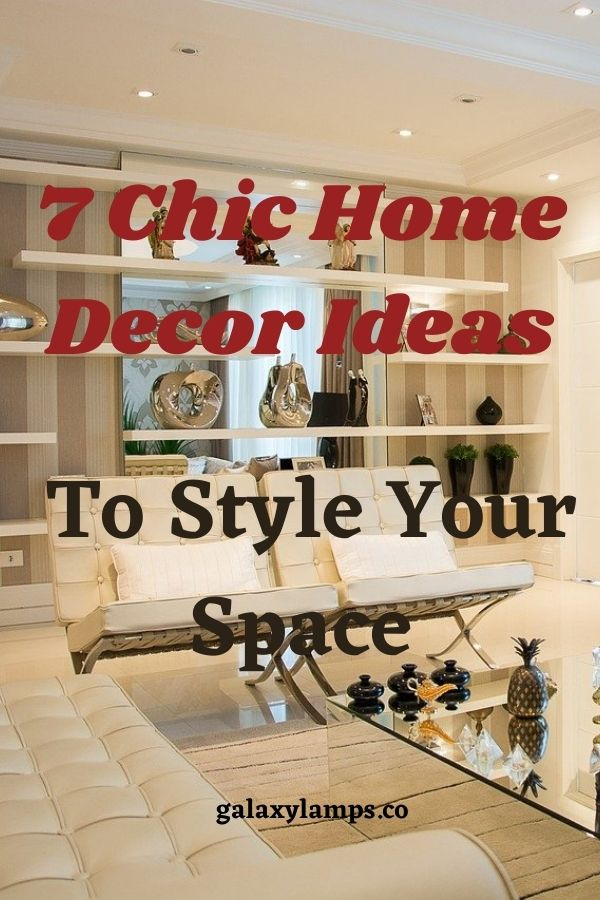 7 Chic Home Decor Ideas To Style Your Space #homedecorideas living room home decor ideas diy bedroom for cheap