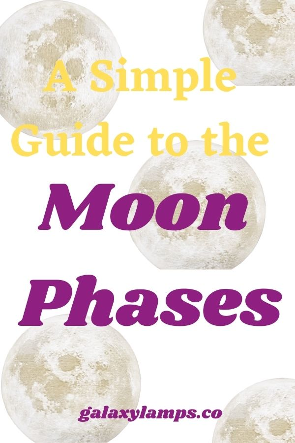 A Simple Guide to the Moon Phases #moonphases moon phases art moon phases meaning moon phases aesthetic