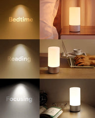 Aukey table bedside lamp touch sensor