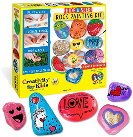 Best easter gifts for kids Hide and Seek Rock Painting Kit