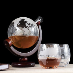 Best gift ideas globe_decanter_with_glasses_set