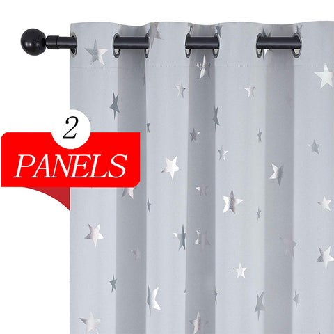 Blackout Starry Curtains