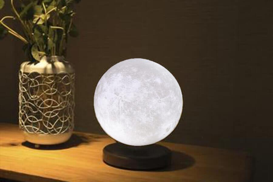Gift ideas for best friend Levitating_3D_Moon_Lamp
