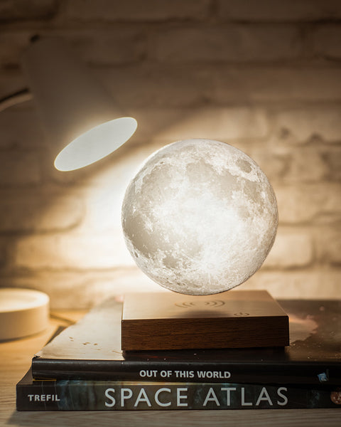 Levitating Moon Lamp as light during nights