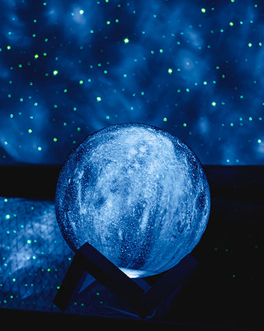 Planets in the solar system Galaxy Lamps