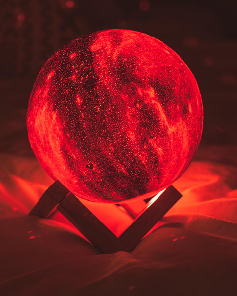 Spectacular romantic gift for her Galaxy Lamp