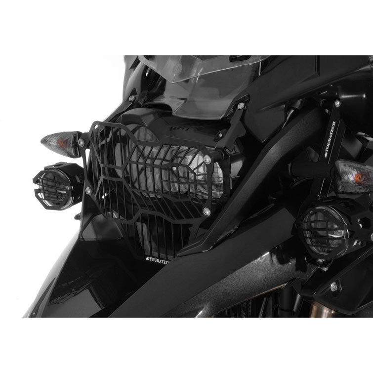 Headlight Guard Black Quick-Release - BMW R1200GS 13-16