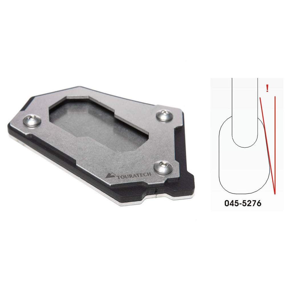 Wide Side Stand Base Extension - BMW R1250GSA, R1200GS 14-16, R1200GSA 14-18, R1200GS Rallye