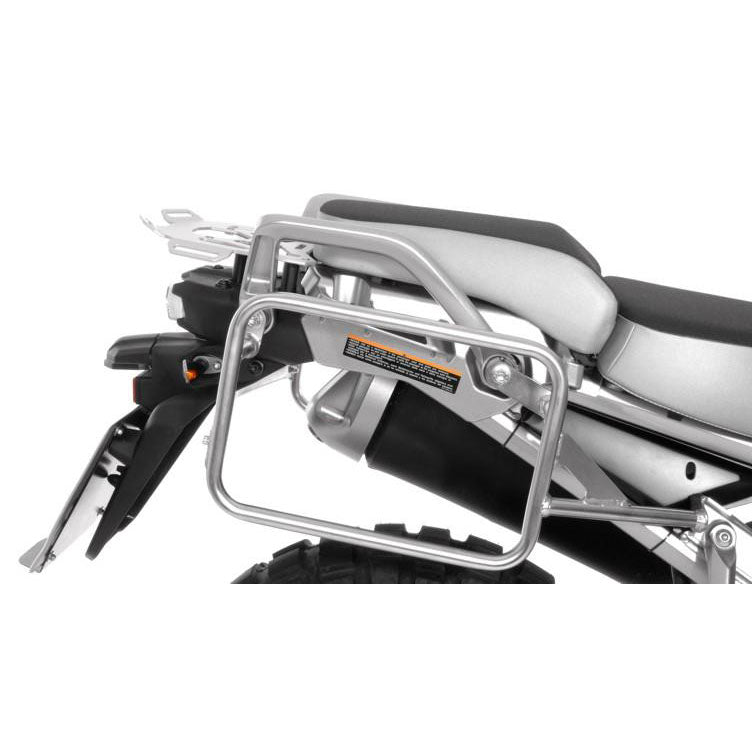 Stainless Steel Silver Side Case Racks - Yamaha XT1200Z Super Tenere from 2014