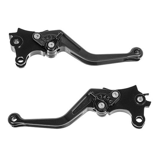 Brake & Clutch Levers Adjustable, Short - BMW F850GS /GSA, F750GS