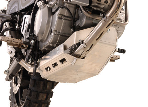 Touratech Engine Guard Skid Plate  incl. Oil Cooler Repositioning - Suzuki DL650 06-11