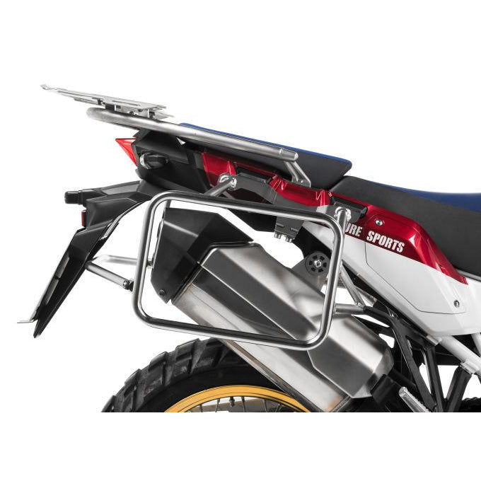 Stainless Steel Silver Side Case Racks - Honda CRF1000L Africa Twin 18-19 / Adventure Sport