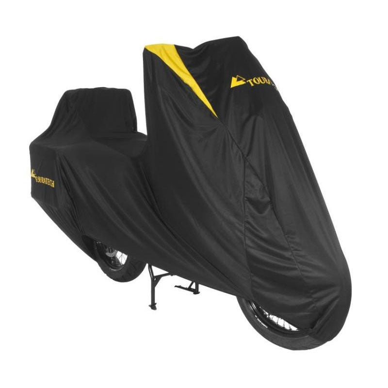 Indoor Soft Cover for Adventure bikes with Side Cases & Top Case