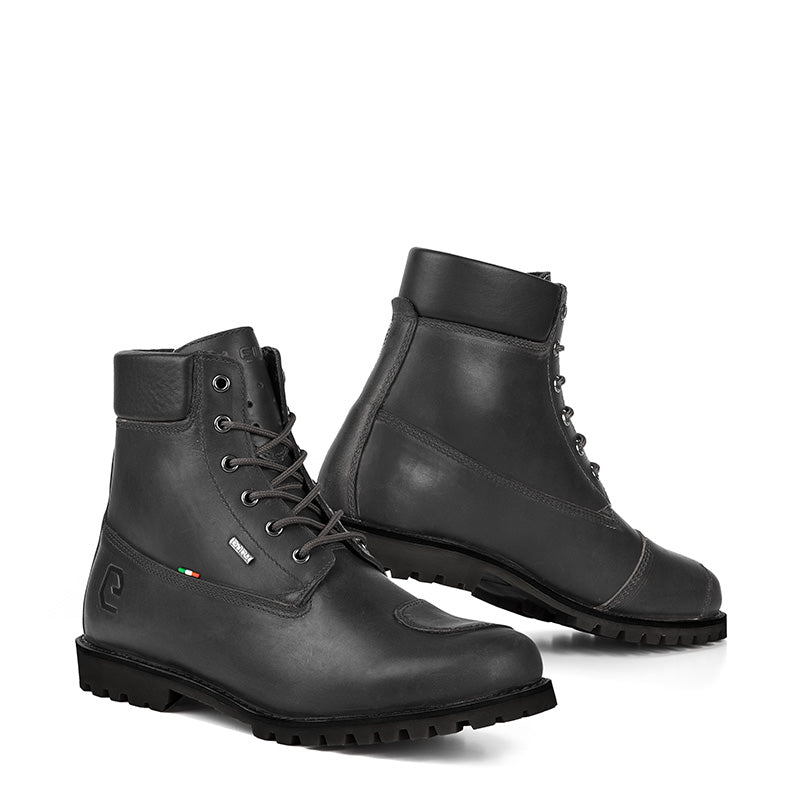 All Ride Black Men Cafe Racer Boots
