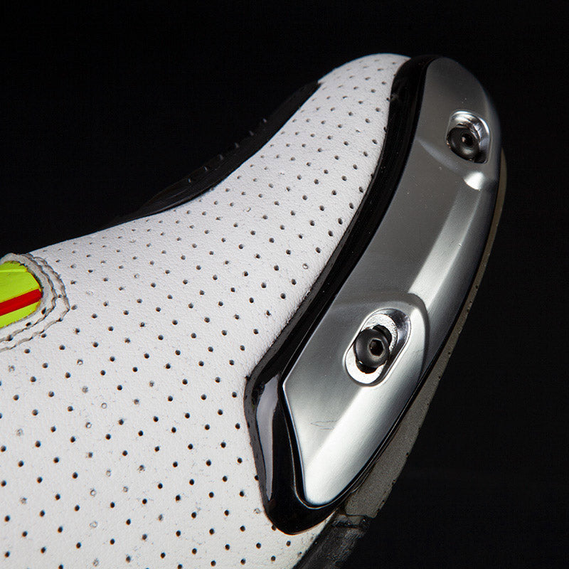 SP-01 White Men Racing Boots