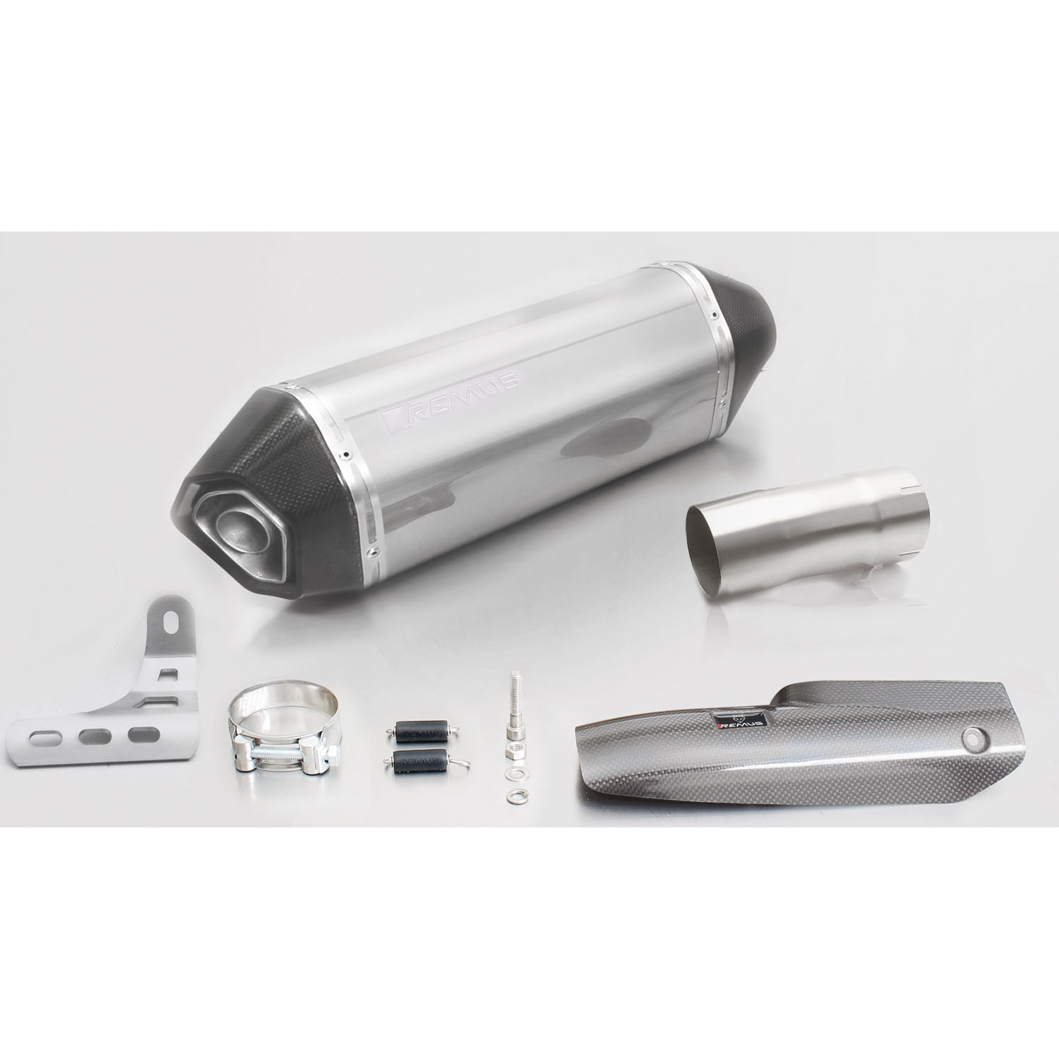 Hexacone Stainless Steel Slip-On Exhaust - BMW R1200R/RS 17-19