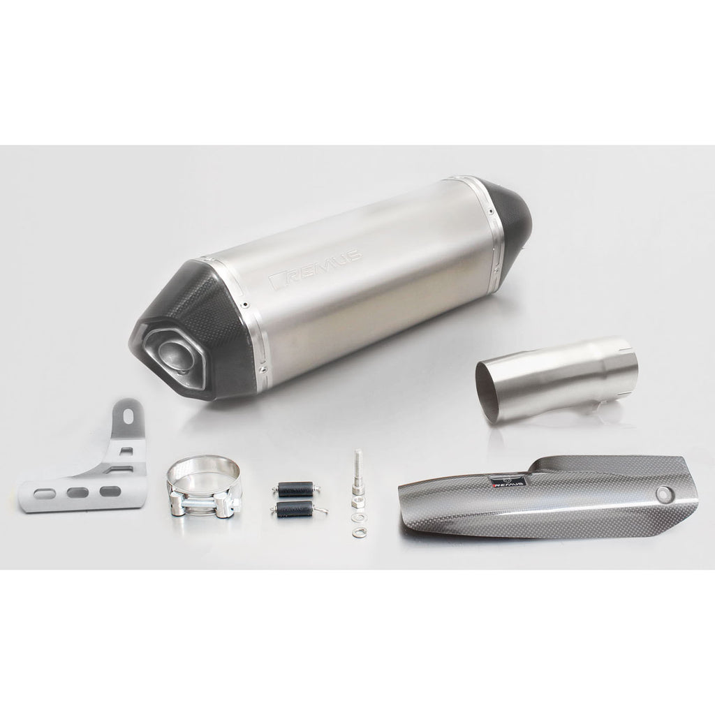 Hexacone Titanium Slip-On Exhaust - BMW R1200R/RS 15-16