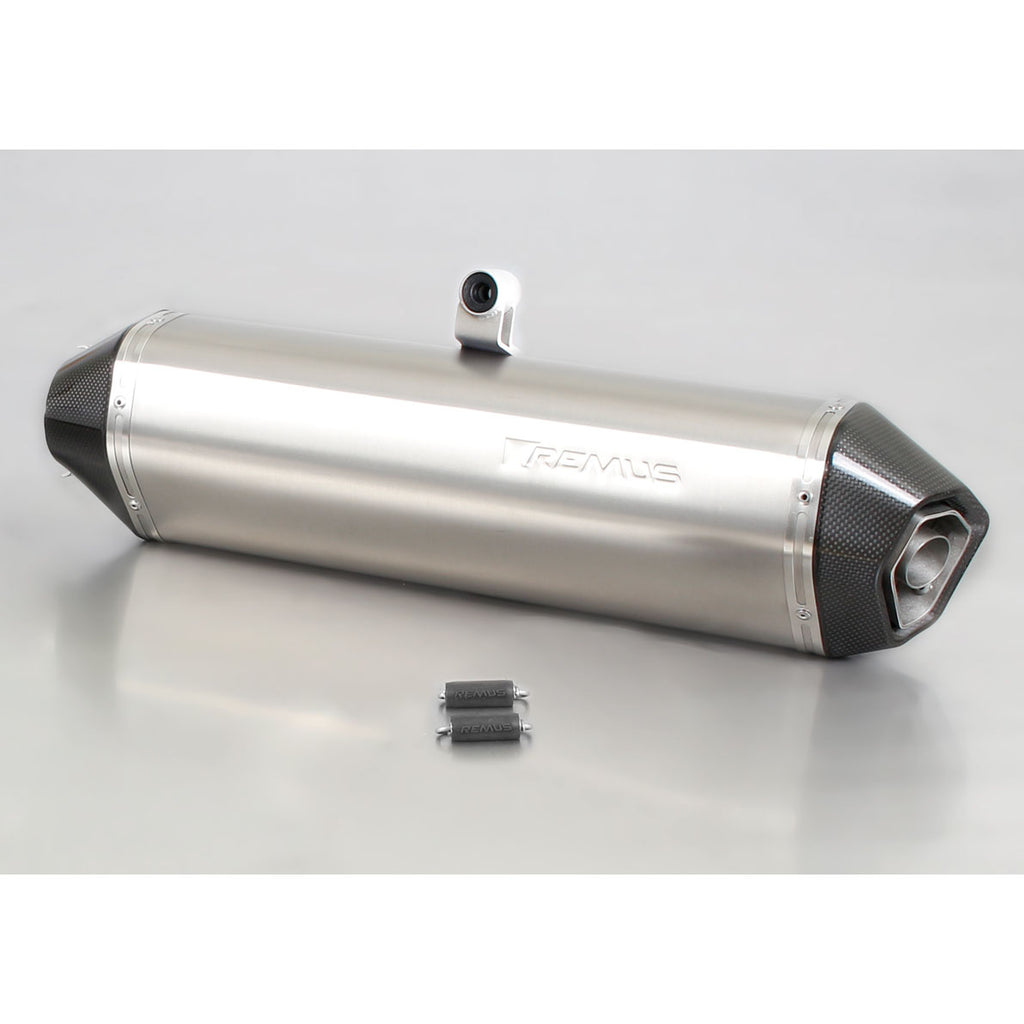 Hexacone Titanium Slip-On Exhaust - BMW F650GS, F700GS, F800GS/GSA