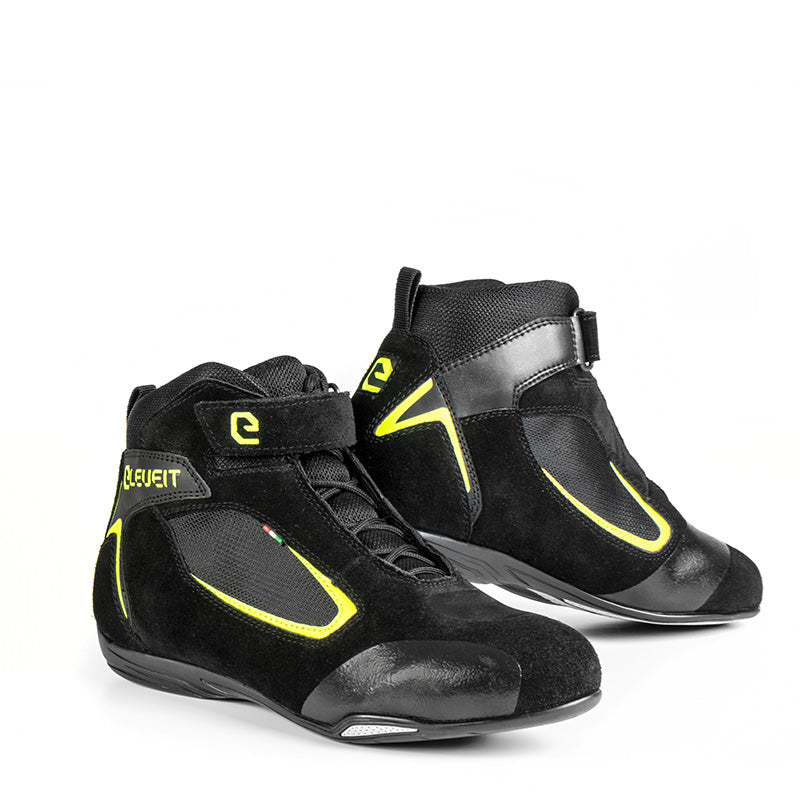 Ventex Air Black/Yellow Men Touring Sport Boots