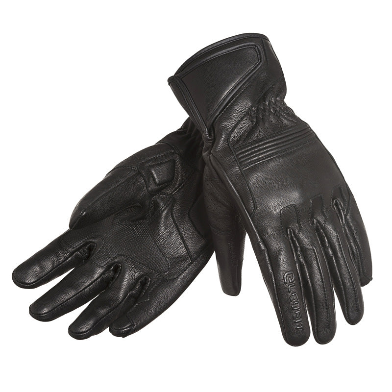 Classic Black Men Café Racer Gloves