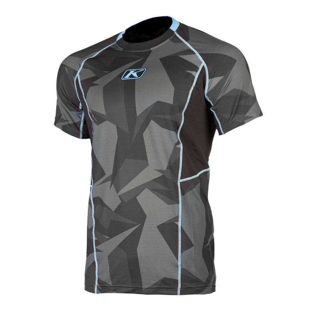 Aggressor Cool -1.0 Camo Men Base-Layer Short Sleeves Shirt